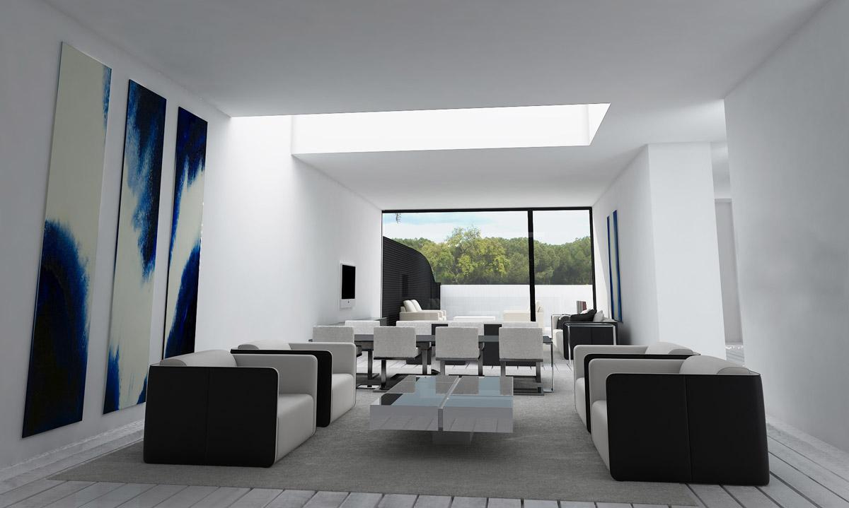 interiores minimalistas a cero
