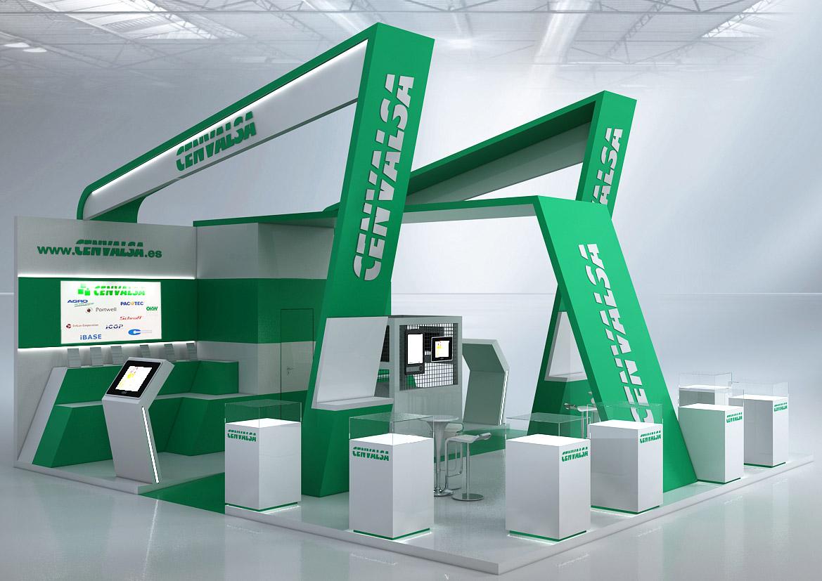 Exhibition Stand Design Lebanon : Cqinteriorismo cenvalsa